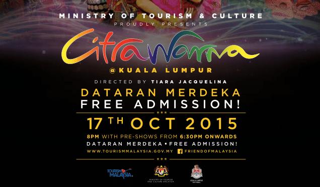 Soft Launch of Citrawarna, Kuala Lumpur 2015