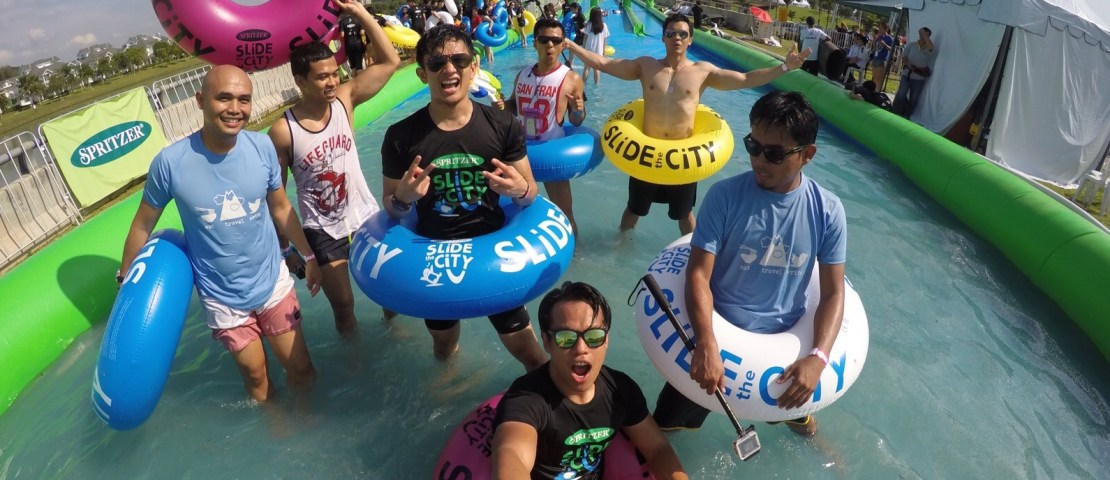 Splashing Facts On Slide The City Malaysia!