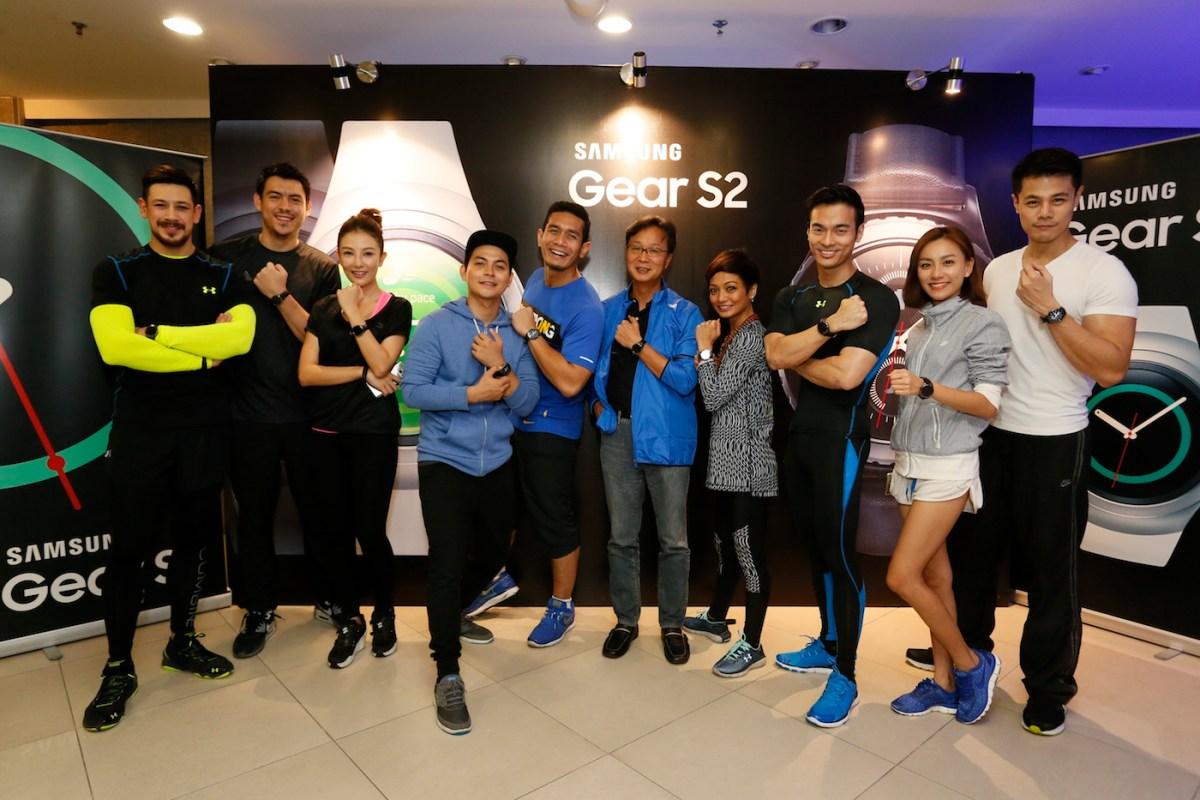 100 Celebrities and media Join Samsung's Gear S2 Movement