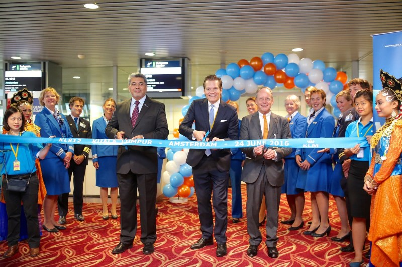 KLM Royal Dutch Airlines Adds Three Weekly Flights from Kuala Lumpur to Amsterdam