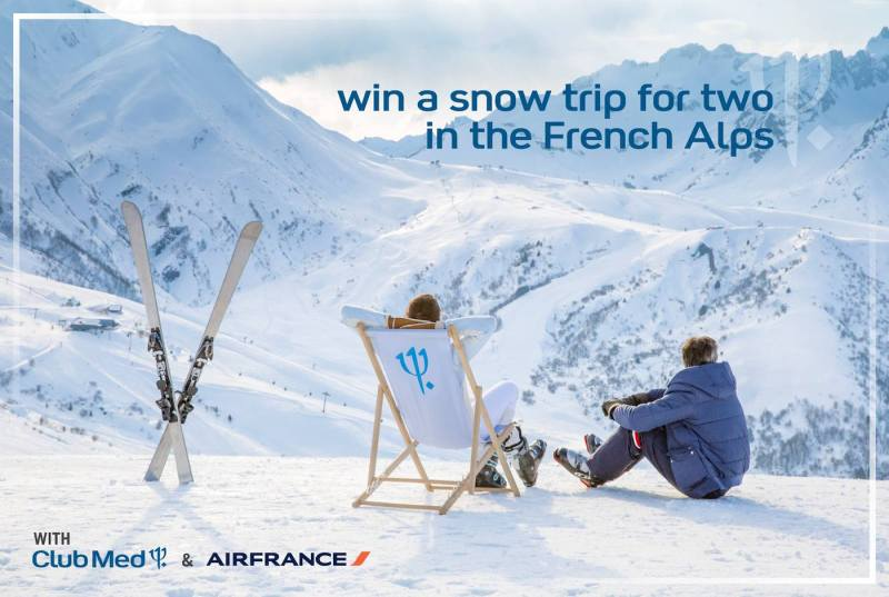 Win a Ski Holiday for Two with Club Med and Air France!