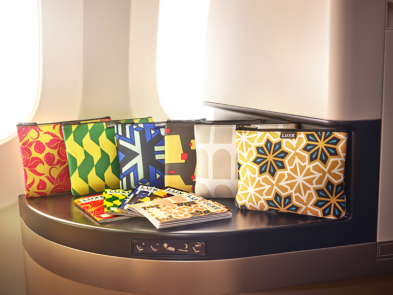 Etihad Airways Introduces Six New Designs to its Business Class Amenity Kits