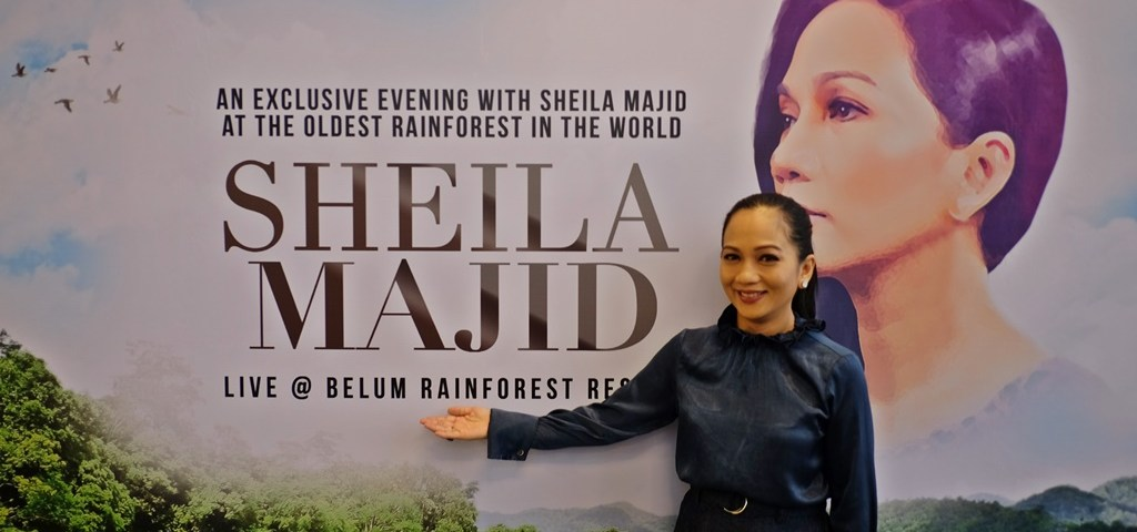 Exclusive Showcase by Sheila Majid Amidst the World's Oldest Rainforest