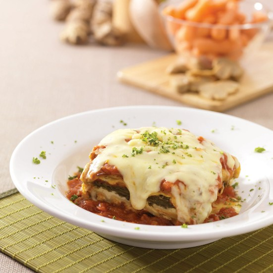 Cheese Spinach Lasagne