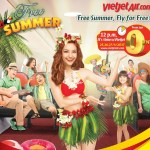 "Vietjet Offers Million Promotional Tickets for  ""Free summer, Fly for free"" Campaign"