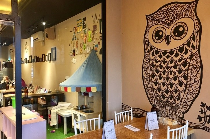 Family-friendly Dining at Owlery