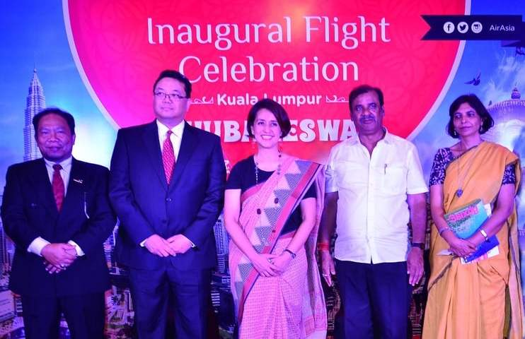 AirAsia is the First International Airline to Land in Bhubaneswar, India