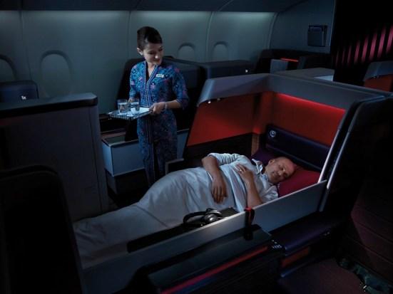 First Class - Full Flat Bed
