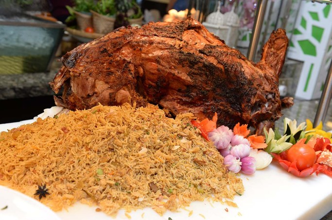Roasted whole lamb with the finest herbs and spices with special briyani rice - Concorde Hotel - Cuit-Cuit Rasa Ramadhan