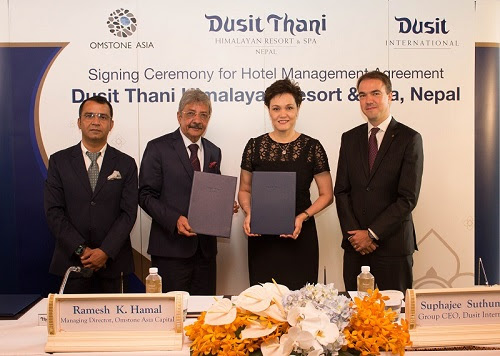 Dusit International to Make Nepal Debut with Luxury Mountaintop Resort