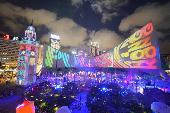 The Brand New Hong Kong Pulse Light Show