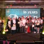 G Hotels' Five Years' Service & Ten Years' Service Recognition Awards and  Best Employee of The Year Awards  2017