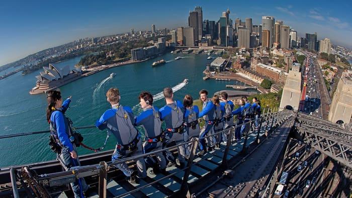 BridgeClimb Experience at Sydney Harbour Bridge