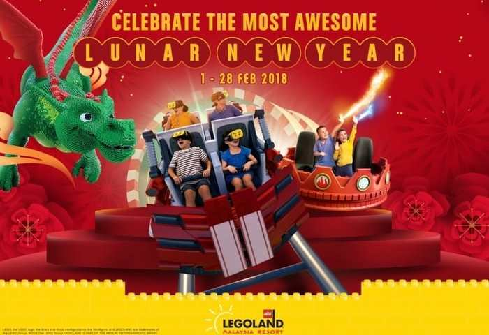Awesome Lunar New Year awaits at LEGOLAND® Malaysia Resort