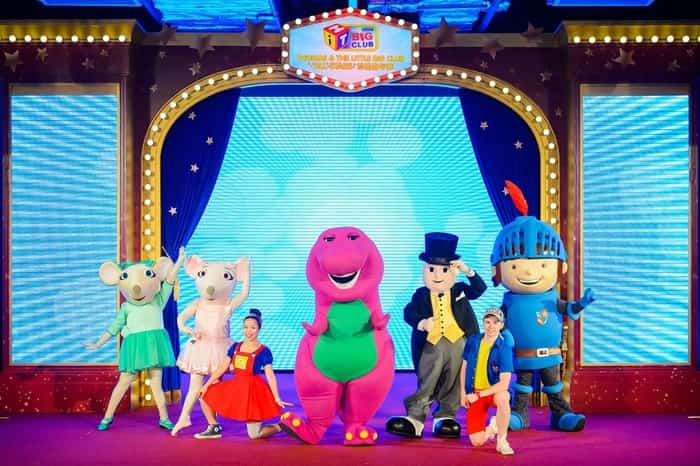 The Little Big Club ALL STARS invite you to come sing, dance, dress up and have fun at one of the specially created activities at Sands Cotai Central.