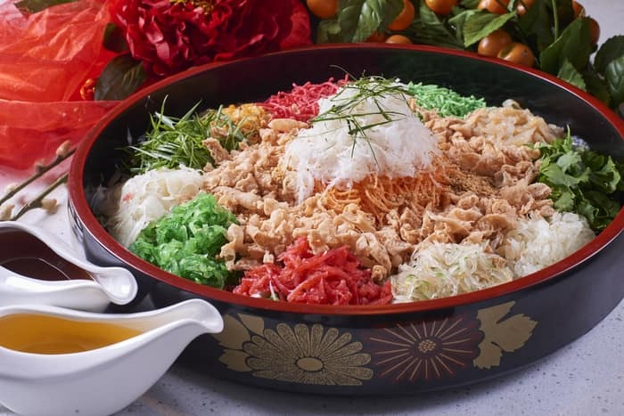 Yee Sang (SPG Hotels in Malaysia Present Lavish Lunar New Year Celebrations)