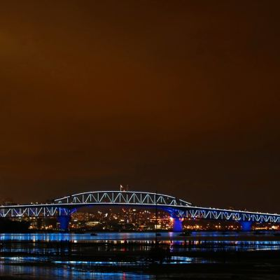 Auckland's iconic harbour bridge will be lit up for New Zealand's national day, Waitangi Day.