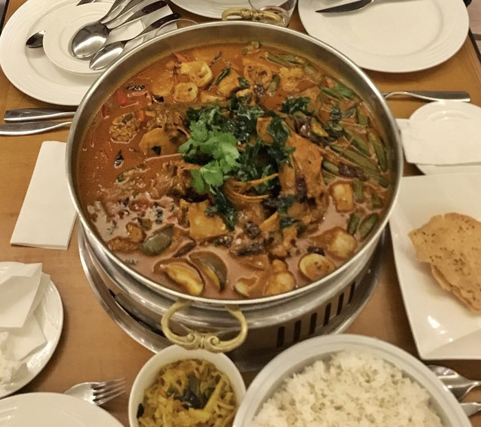 Spicy And Delicious Fish Head Curry At Sunway Putra Hotel, Kuala Lumpur