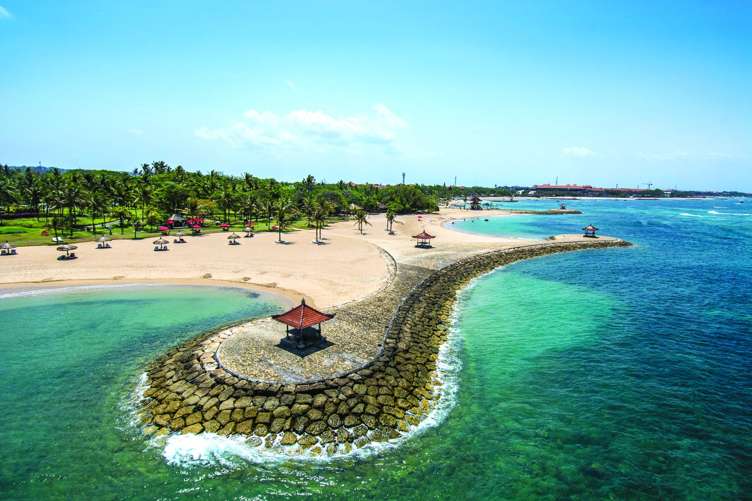 Club Med Bali: part of the Nusa Dua's gated community of five-star resorts