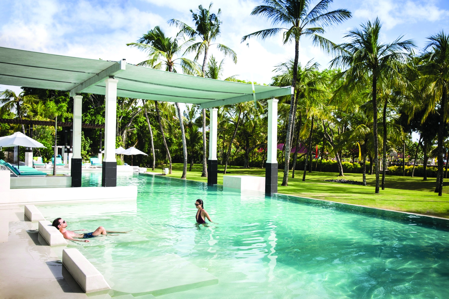 Club Med Bali: a self-contained and quaint village that is well manicured, lush, secure and efficiently run