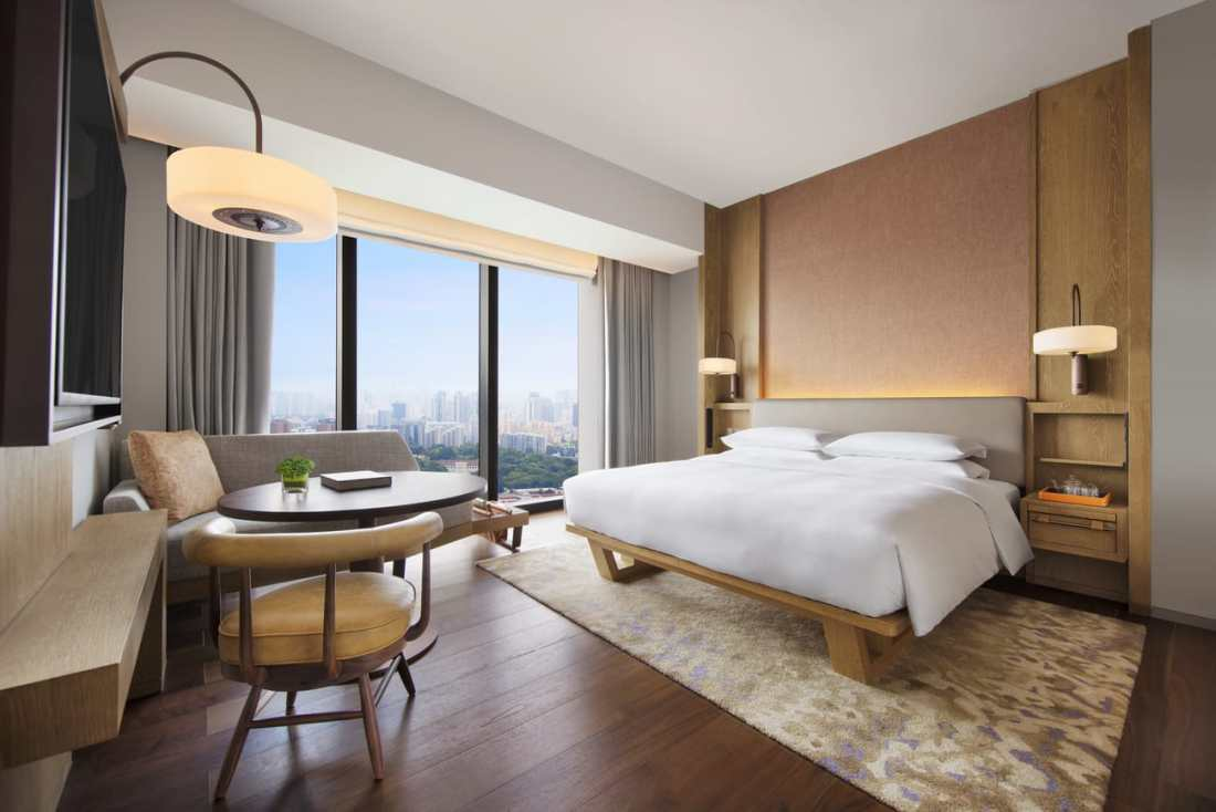 Andaz Singapore King Bed View Room