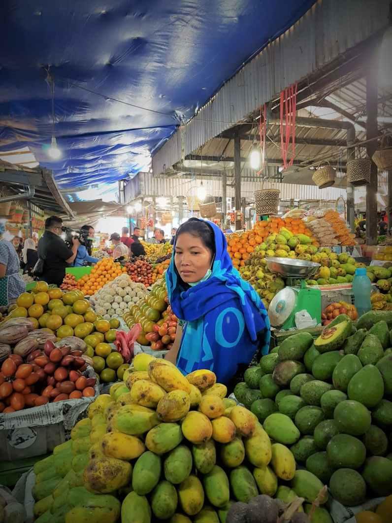 Berastagi Fruit Market