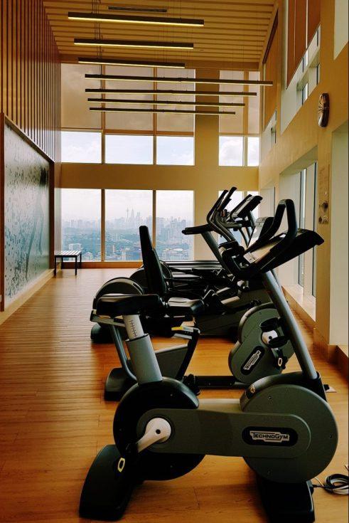 The gym at Sheraton Petaling Jaya