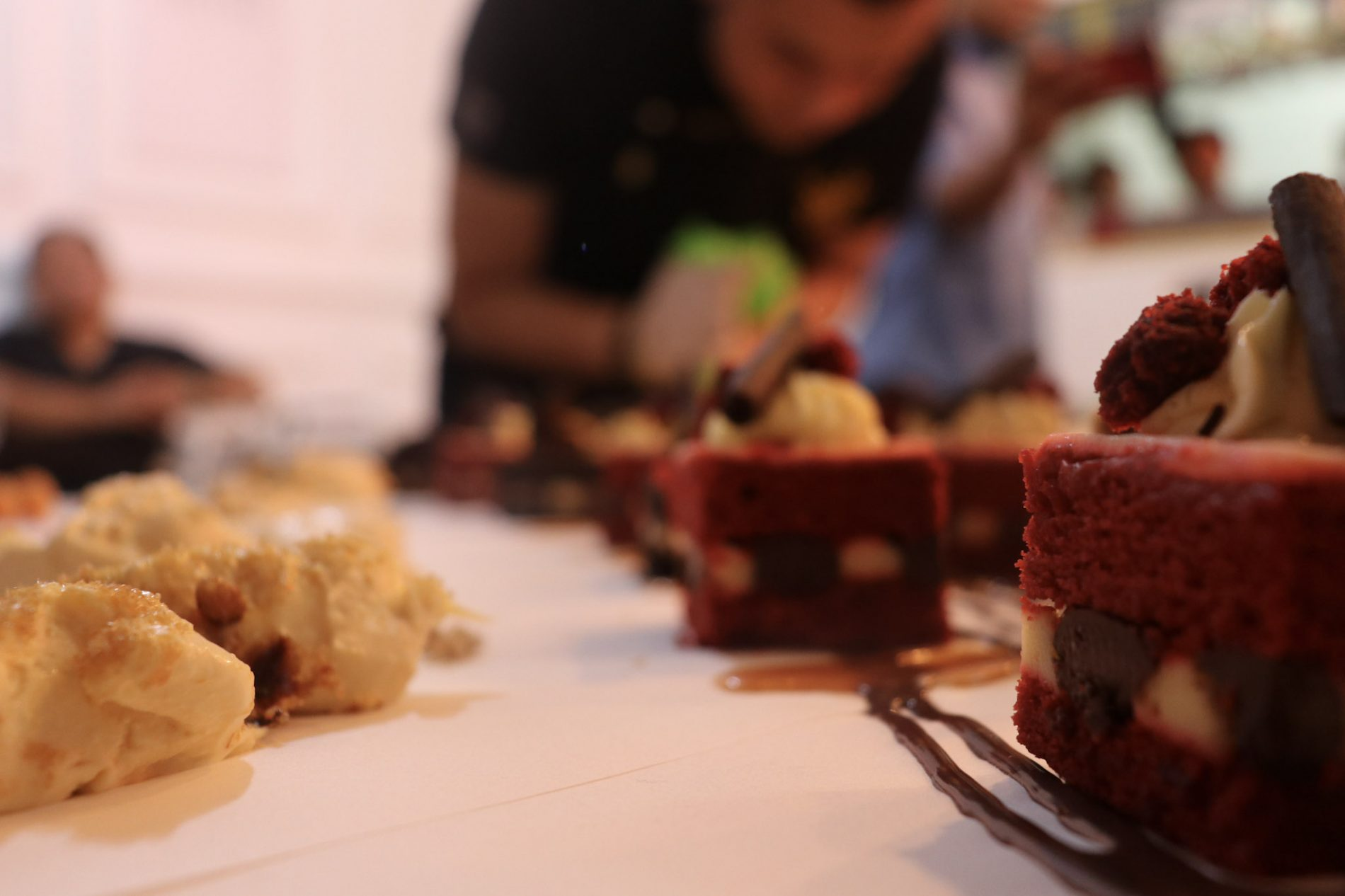 Some of the cakes at Suka Sucre
