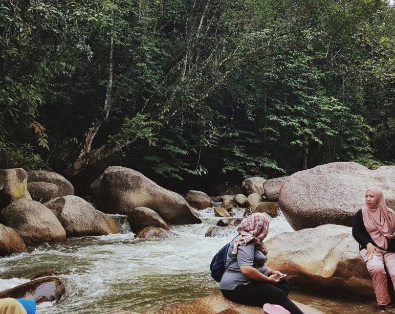 Batang Kali RIver during ETW7