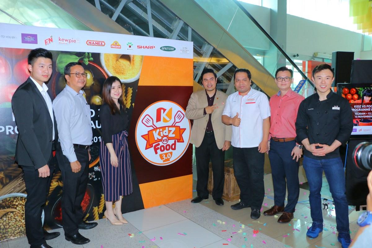 "Kidzania Kuala Lumpur Congrezz Kids ""Serve Up Kindness"" at Launch of Kidz Vs Food 3.0"