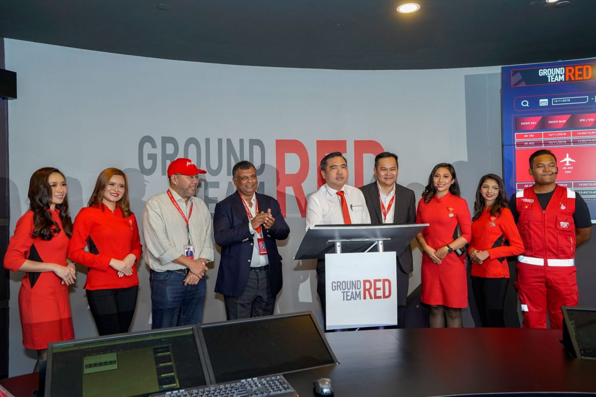 Ground Team Red unveils Malaysia's first digital airport control centre