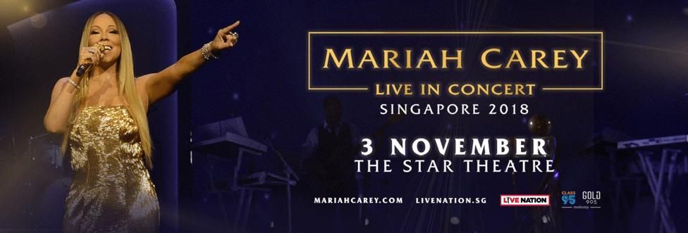 Mariah Carey Live in Singapore