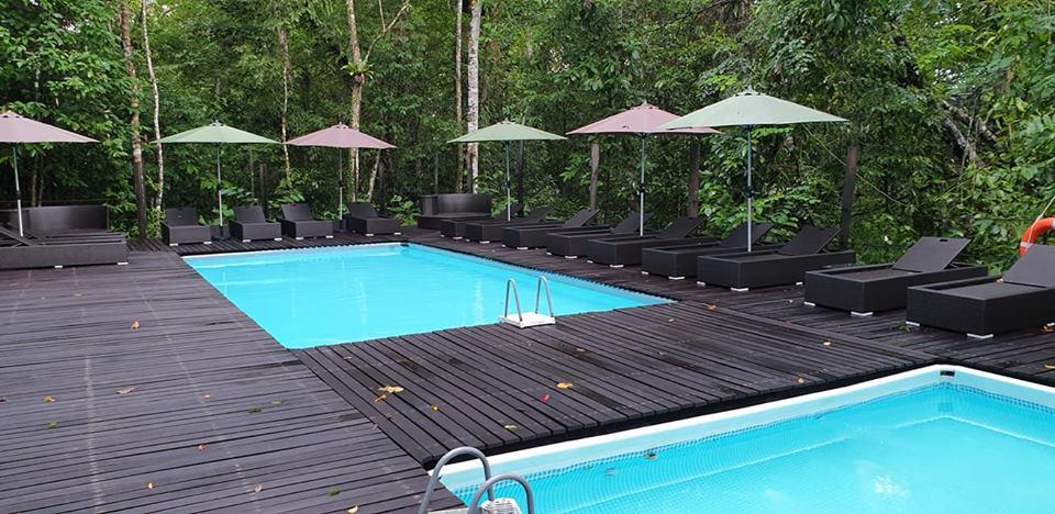 Sukau Rainforest Lodge Swimming Pool