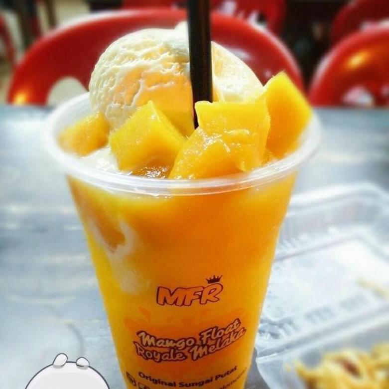Mango float Melaka