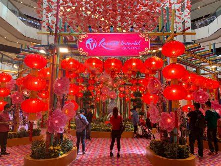 Chinese New Year Decor at SkyAtrium, SkyAvenue