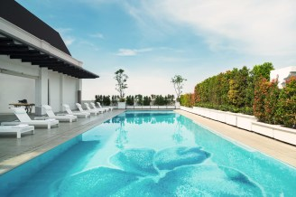 Pool at Four Points by Sheraton Bandung
