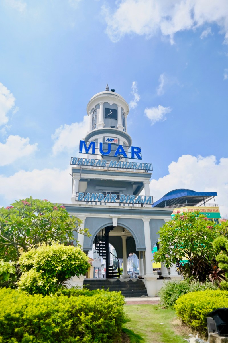 This clock tower is one of the most iconic colonial structural ramains