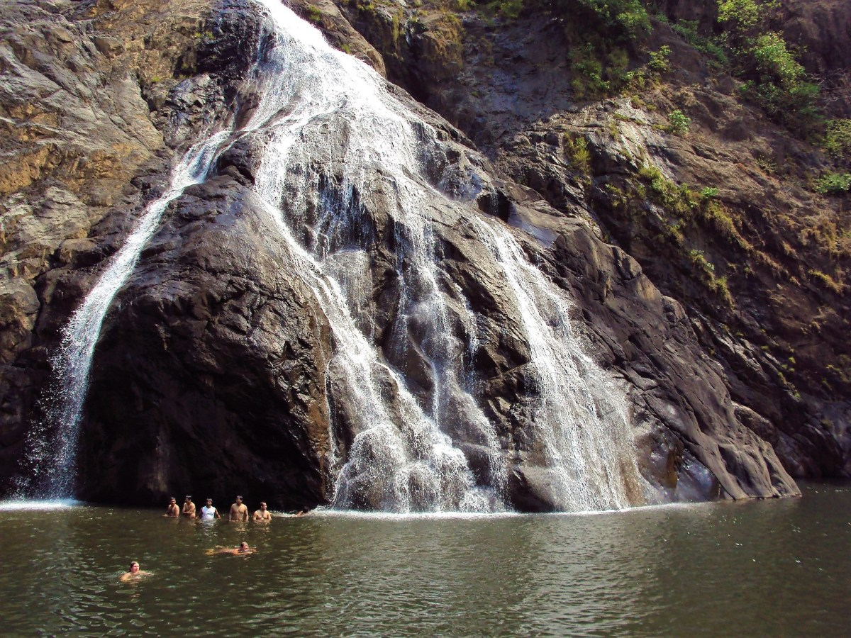 Goa - Dudhsagar Waterfall