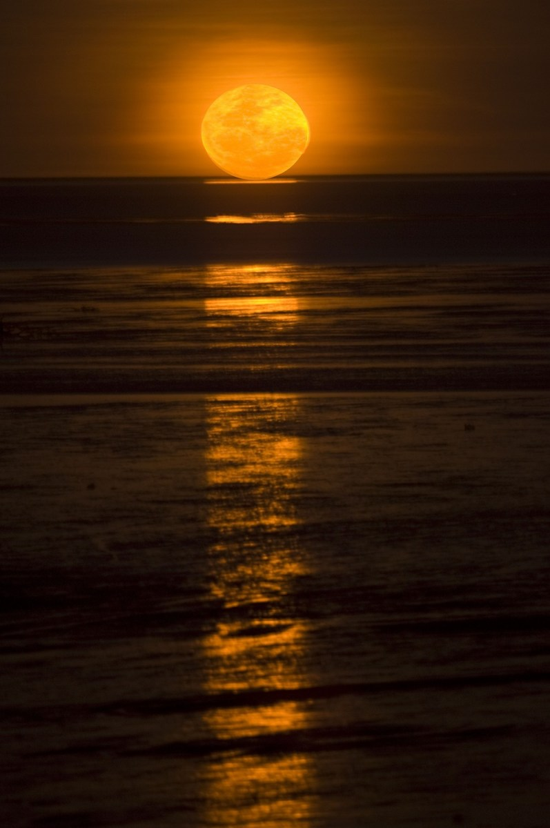 The Staircase to the Moon phenomenon, which happens across Roebuck Bay, Broome