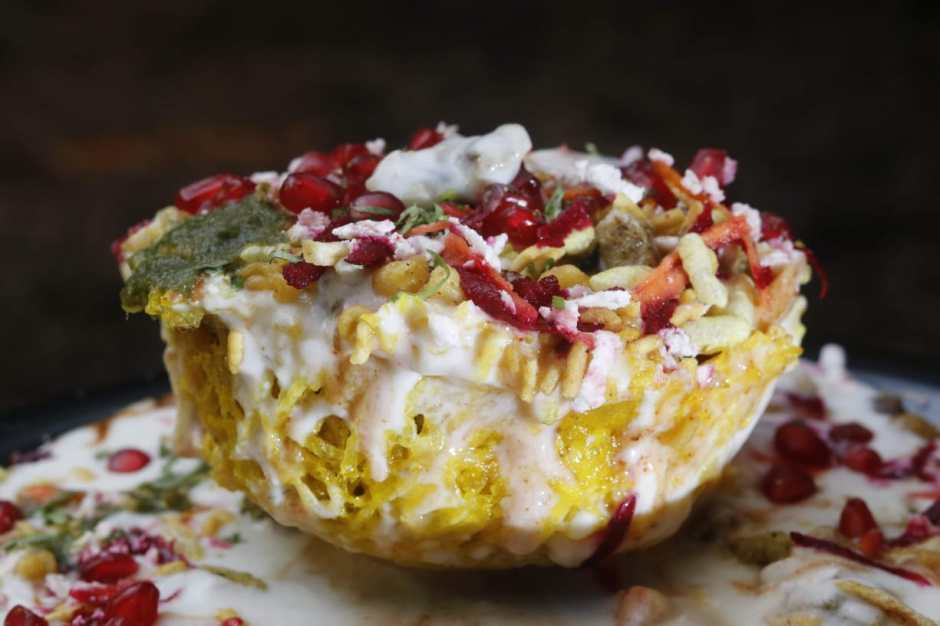 Basket chaat, popular Lucknow snack