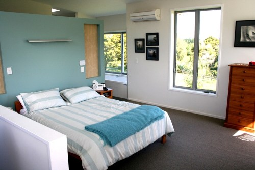 The master bedroom at Olive Homestay (Picture Credit: Tourism New Zealand)