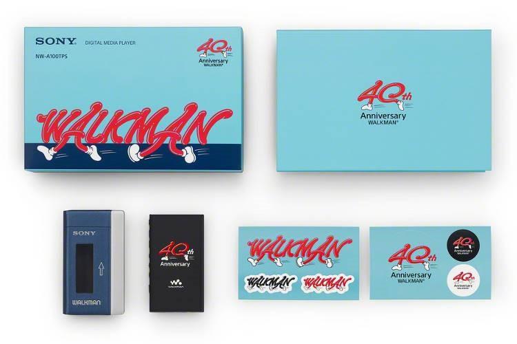 40th anniversary edition, NW-A100TPS Walkman®