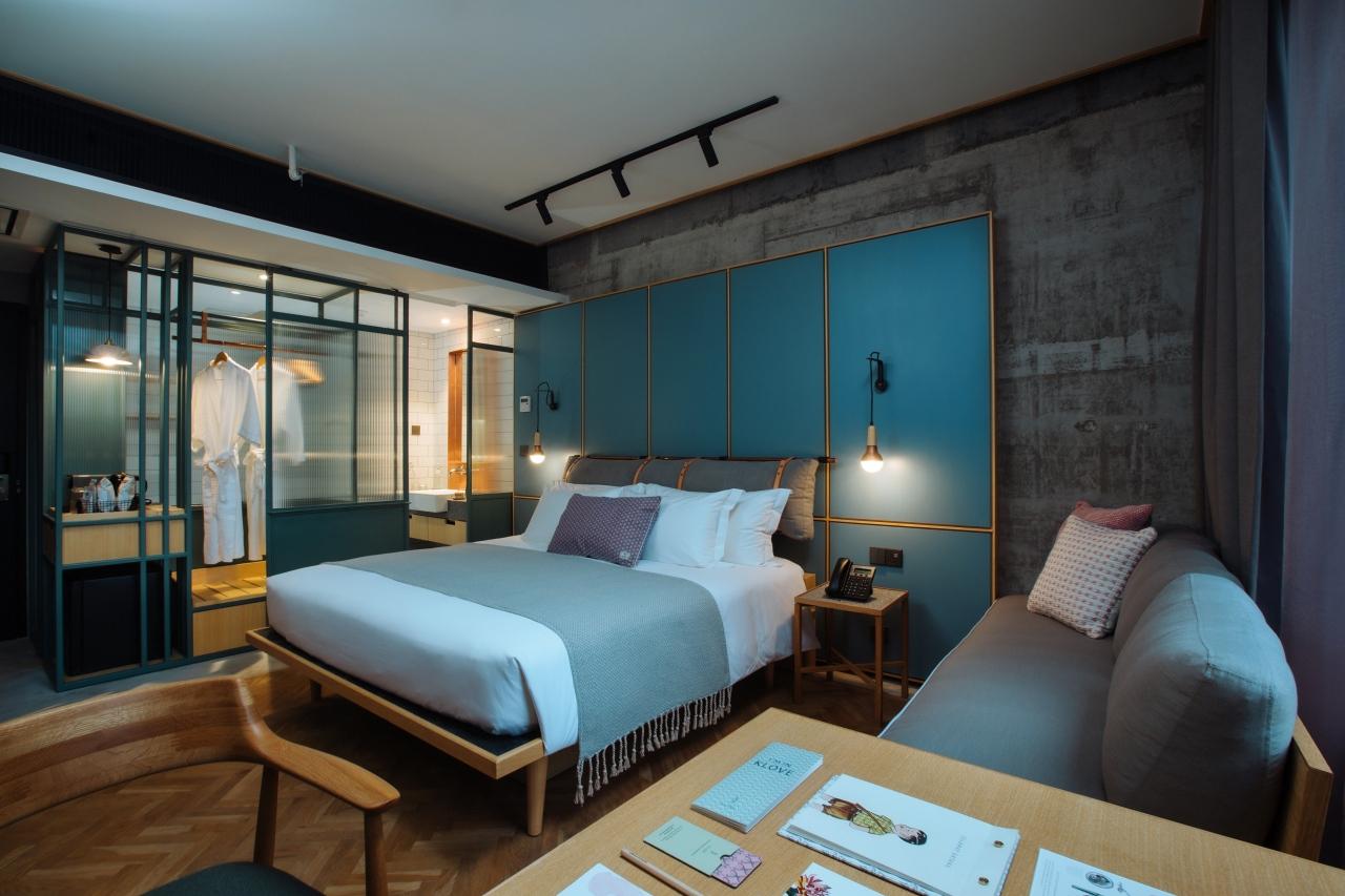 Kloe Hotel's Courtyard Room (Image by Funky Dali)