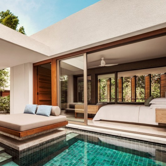 One&Only Desaru Coast - Rainforest Grand Pool Suite_Bedroom_Plunge Pool