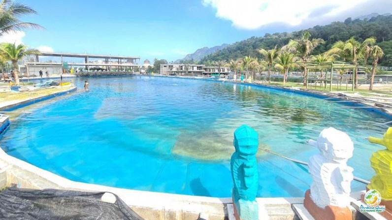 Deep Water Pool at the Perdana Quay Eco Marine Park
