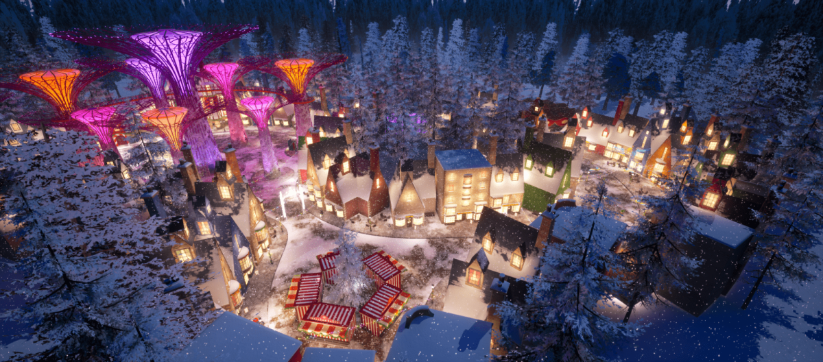 Christmas Wonderland 2020 Reinvents the Festive Experience with an Immersive Virtual World