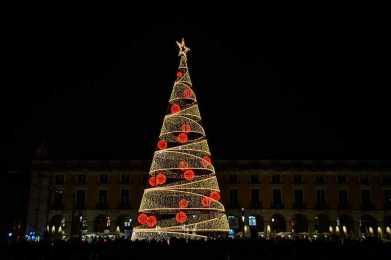 Lisboa Inauguración de las luces de Navidad