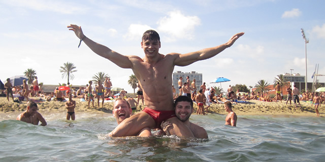 33a3ebed960 Barcelona Gay Beaches. Barcelona Gay Beaches. The city blends the best ...