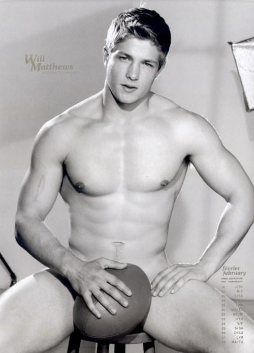 Dieux Du Stade - Rugby Guy Naked