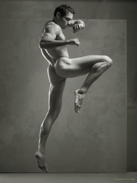 Sculptured Male Nude